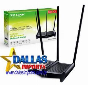 Roteador Wireless Tp-link Tl- wr 941HP 450mbps, 3 Antena 8 D