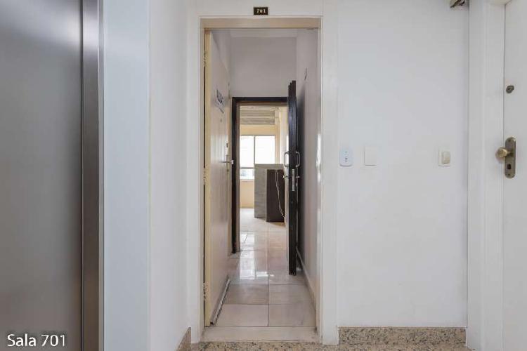 Sala/conjunto para aluguel com 30 metros quadrados em centro