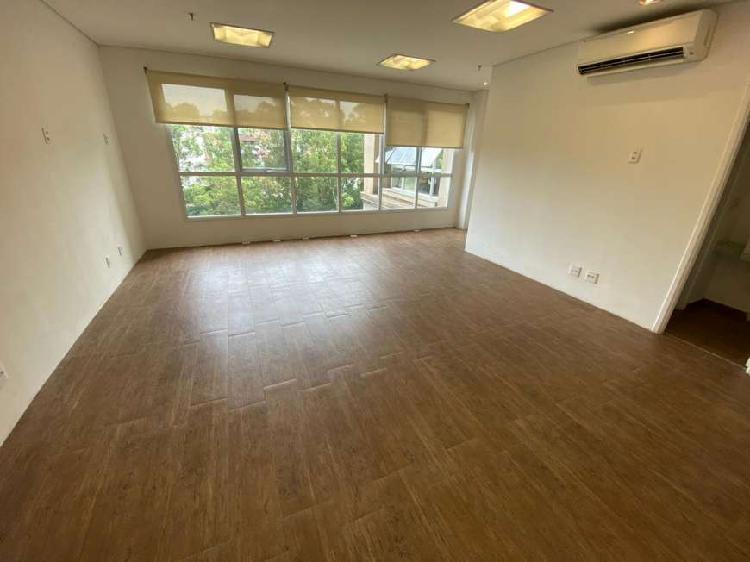 Sala/conjunto para aluguel com 48 metros quadrados em sítio