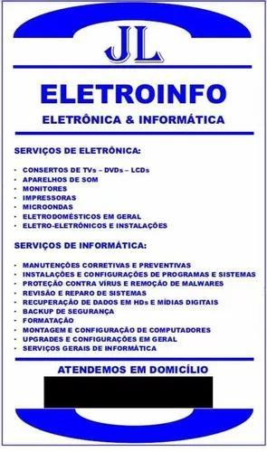 Serviços de informática e eletrônica