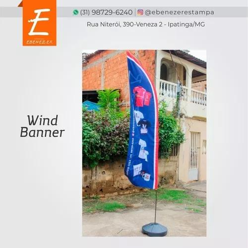 Wind banners personalizados