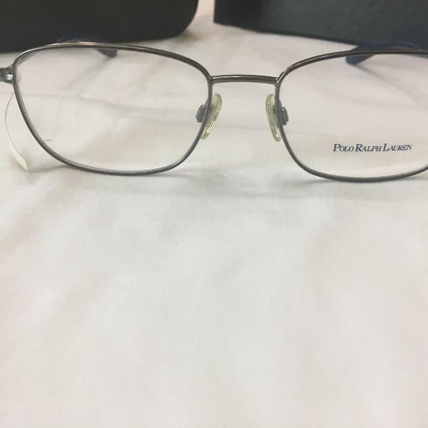 Armação óculos polo ralph lauren 1131 9157 metal