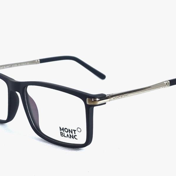 Armação de óculos de grau masculino mont blanc mb1280