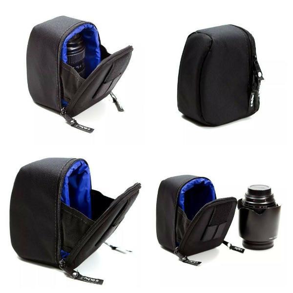 Bag case luva bolsa alhva g p/ lente fotográfica