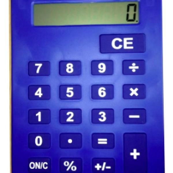 Calculadora gigante 20x28cm kk-5142-8 benko