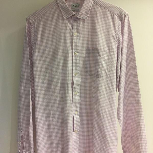 Camisa linho algodão sicília