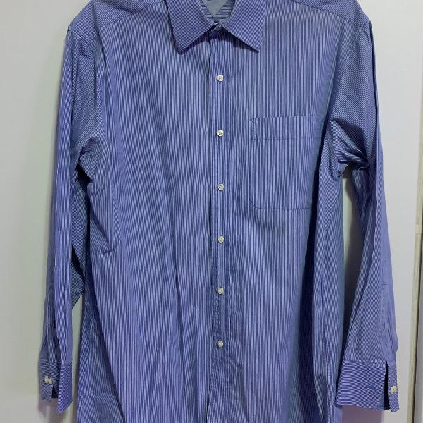 Camisa social masculina - marca: tommy hilfiger