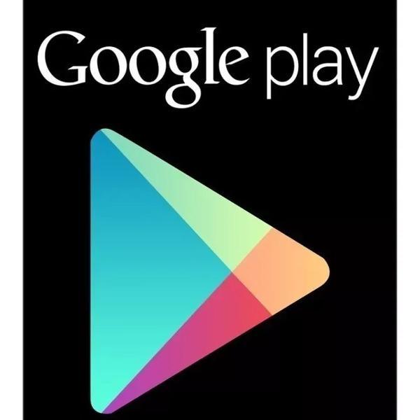 cartão google play store gift card 15 reais