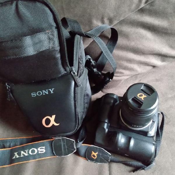 Câmera sony alpha semiprofissional