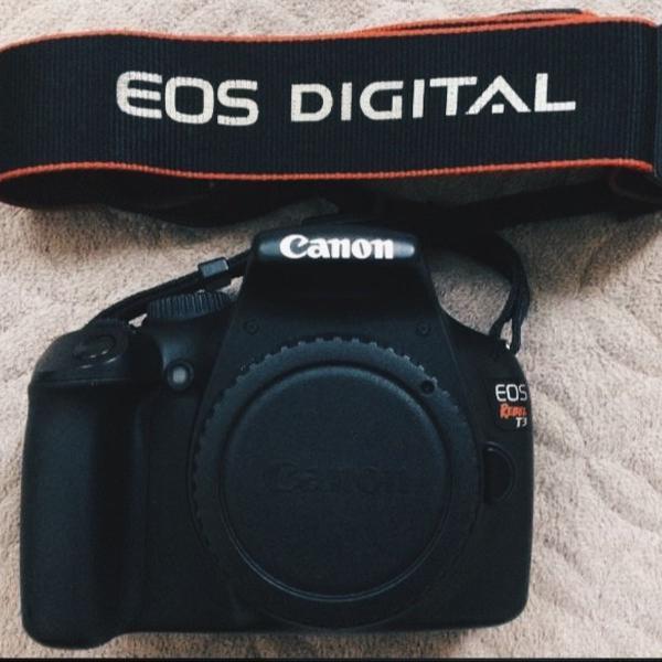 Câmera cânon t3