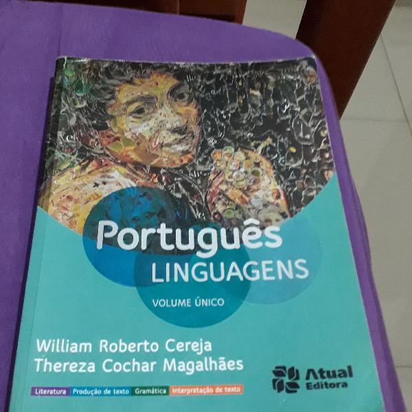 Livro de português linhagens é literatura + um livro de