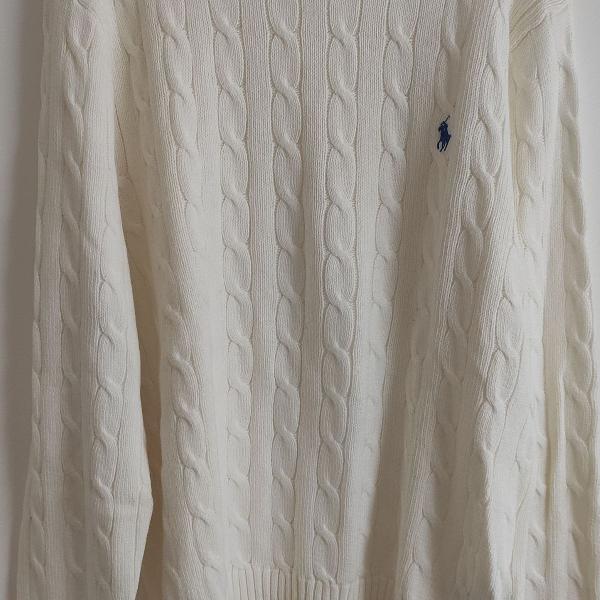 Malha suéter masculino ralph lauren