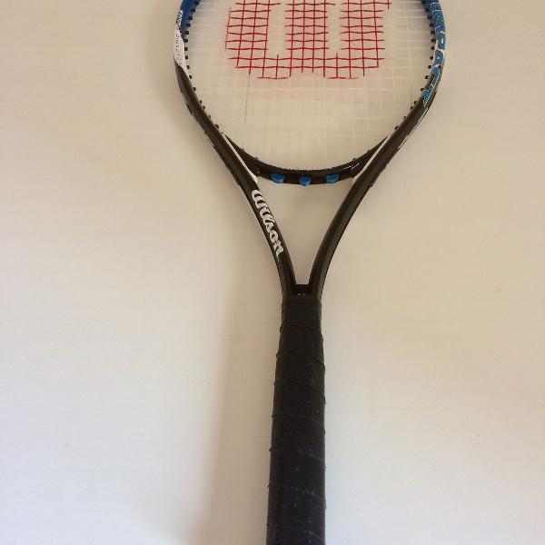Raquete de tênis. volcanic frame. impact. composição: