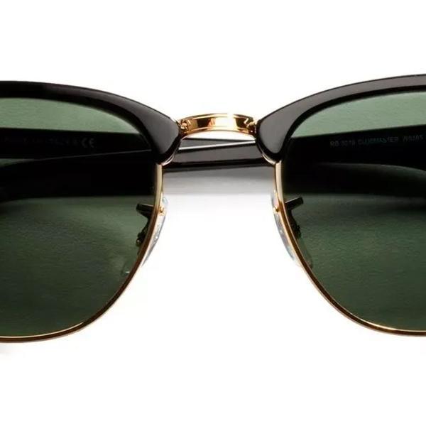 Ray ban clubmaster rb3016 preto fosco oculos de sol