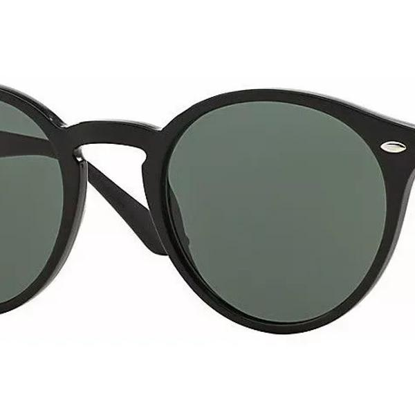Ray ban rb2180 round highstreet óculos de sol masculino