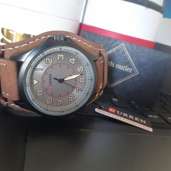 relógio masculino original curren tróia