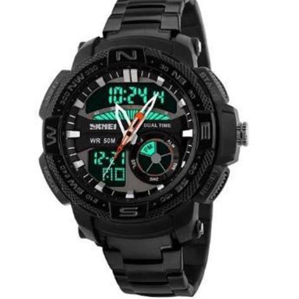 Relógio masculino skmei anadigi 1121