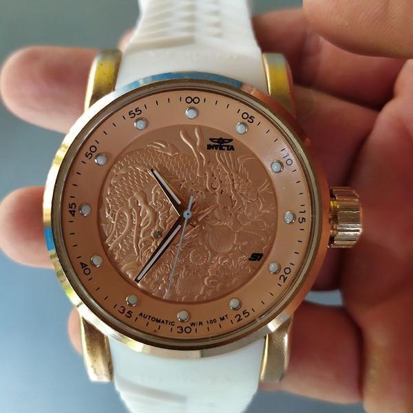 Relógio masculino yakuza s1 dragon + caixinha