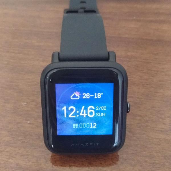 Relogio smartwatch amazfit xiaomi bip