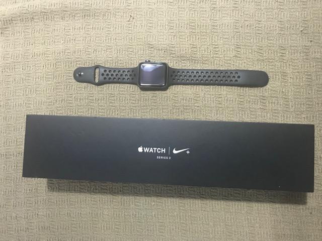 Apple watch serie 3 nike gps