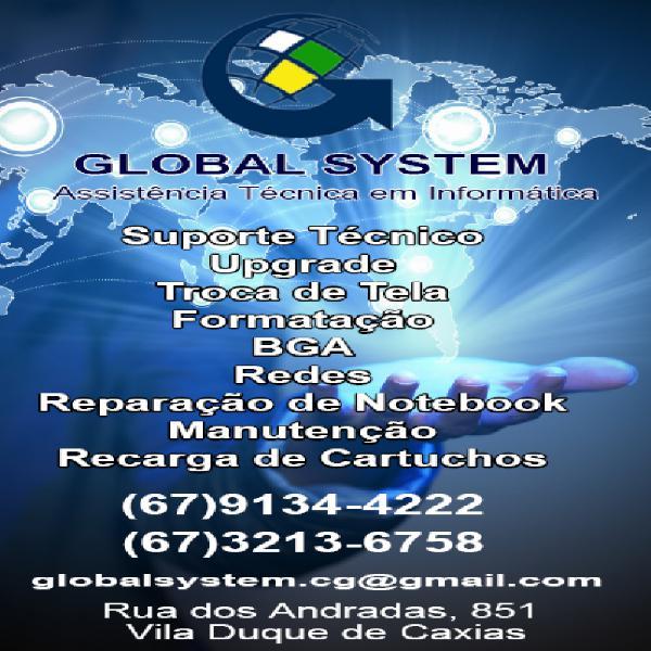 Assistência técnica global system