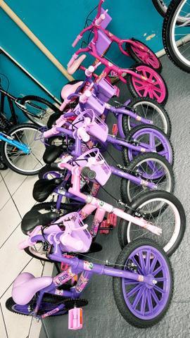 Bicicletas aro 16. revisada. garantia 30 dias