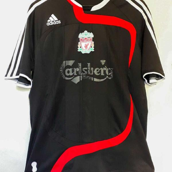 Camisa Do Liverpool Da Adidas Uniforme 3 Preto Da Champions Em Sao Paulo Clasf Moda E Beleza