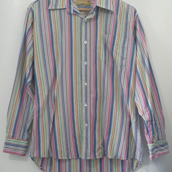 Camisa social colorida cia do terno