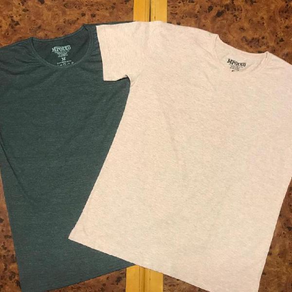 Camiseta masculina lisa - 2020