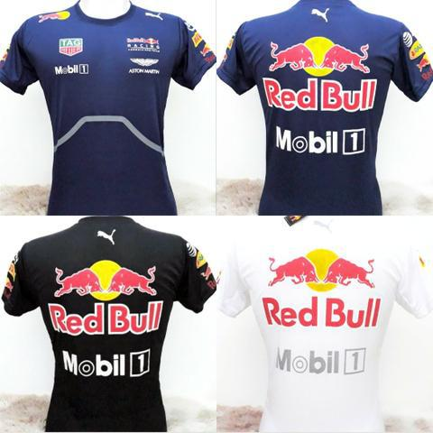Camiseta red bull racing modelo moto gp formula 1 camisa