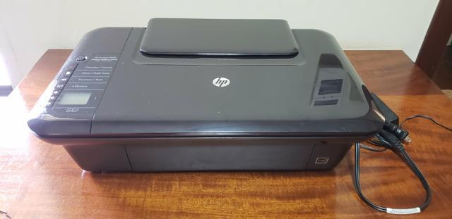 Impressora hp deskjet 3050 (impressora, scanner e copiadora)