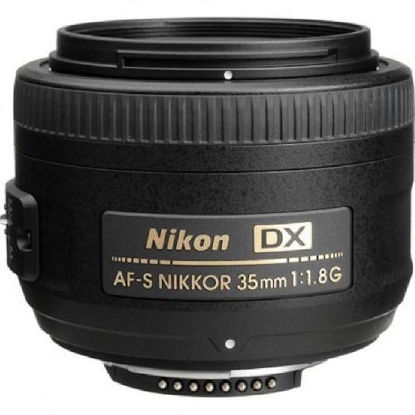 Lente nikon af-s 35mm f/1.8g dx