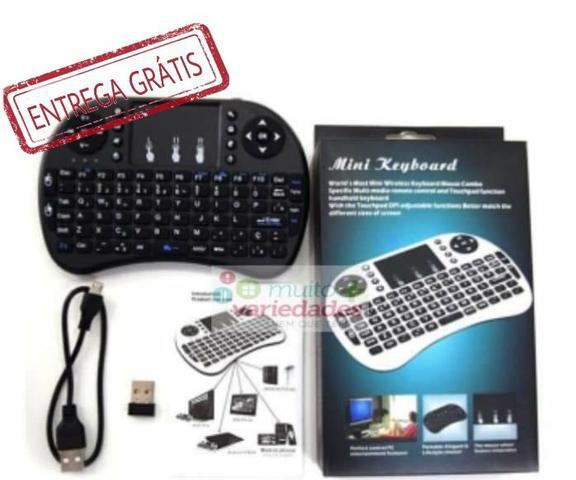 Mini teclado wireless keyboard mouse smart tv, computador