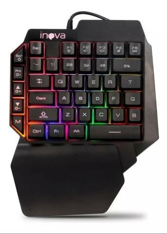 Novo) teclado gamer