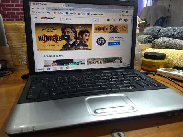 Notebook Hp Compaq CQ40 com SSD super rápido