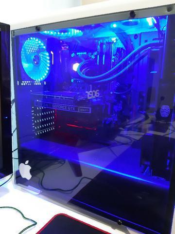 Oportunidade pc gamer completo mouse teclado monitor 144hz