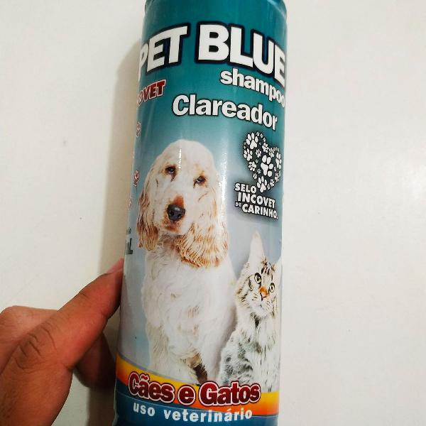 Pet blue clareador de pelos