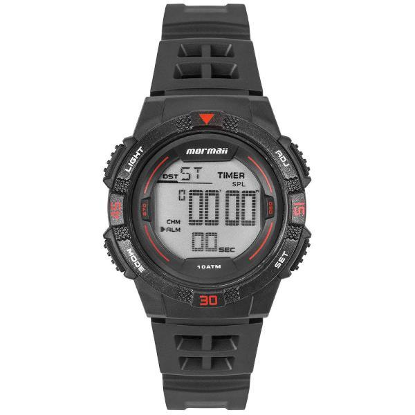 Relógio mormaii masculino wave cinza mo9100ab/8r
