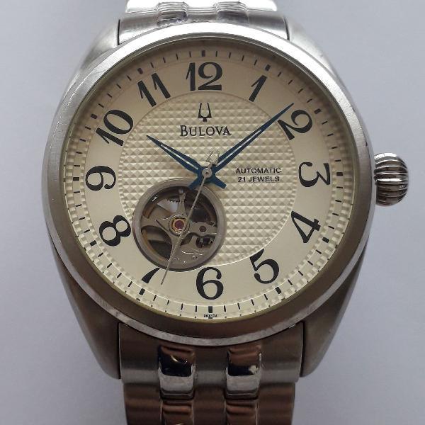 Relógio bulova automático original confira promo de