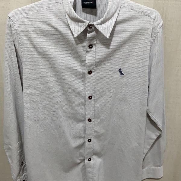 Camisa branca dot reserva