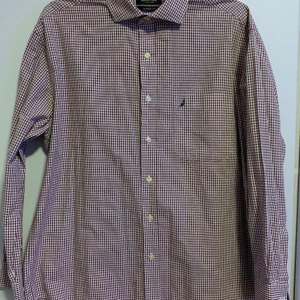 Camisa casual masculina - marca: nautica
