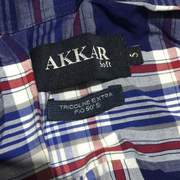 Camisa de manga comprida akkar soft