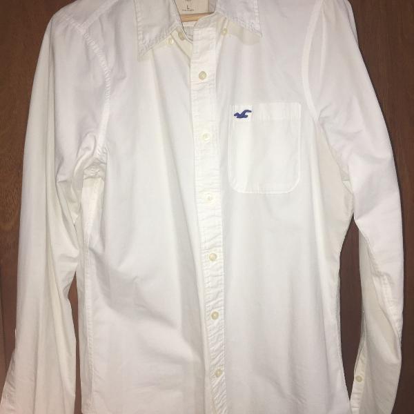 Camisa hollister branca