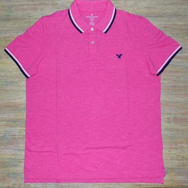 Camisa polo american eagle masculina importada original