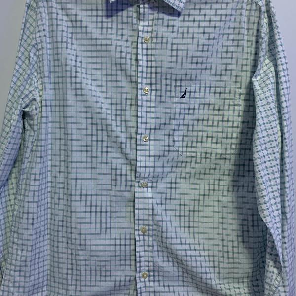 Camisa social masculina - marca: nautica