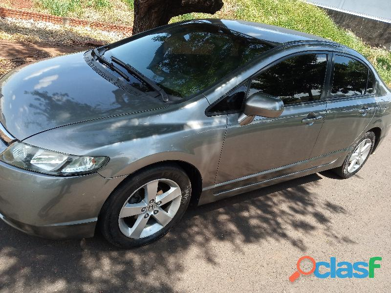Honda civic lxs automatico flex 2008 revisado ,chave copia,manual