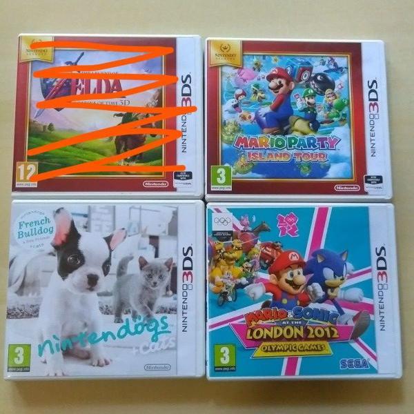 Jogos nintendo 3ds europeus