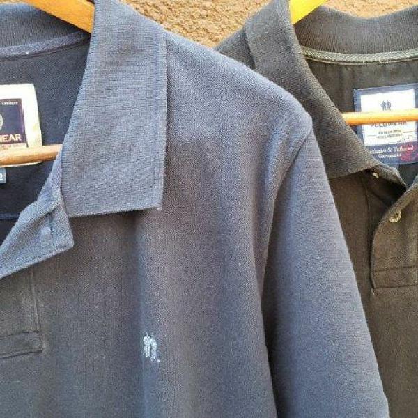 Kit com duas camisetas polo