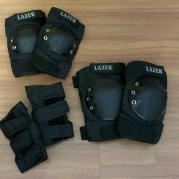 Kit de proteção patins/skate
