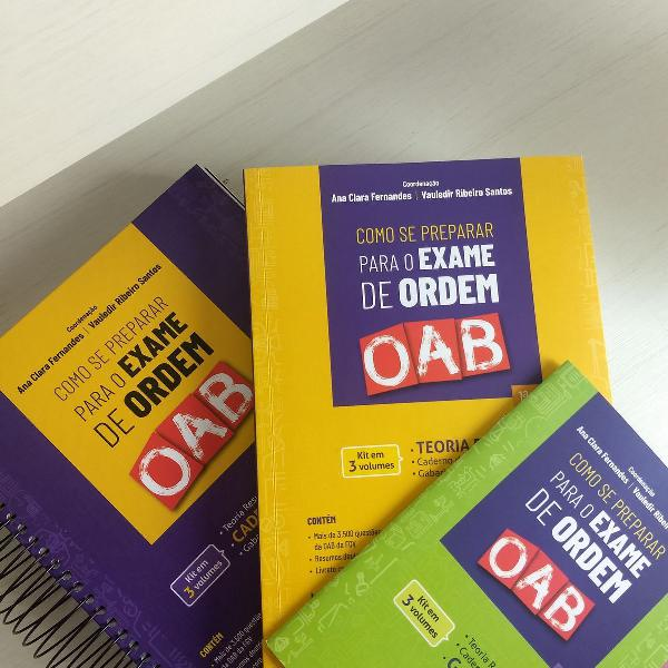 Livro: como se preparar para a oab